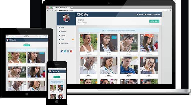 OKDate   Complete Responsive Dating Website Script